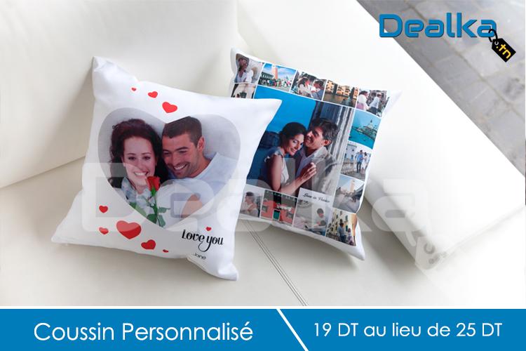 un coussin personnalis avec une photo de votre choix dealka. Black Bedroom Furniture Sets. Home Design Ideas